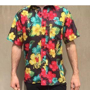 Ace Ventura pet detective vintage Hawaiian shirt M